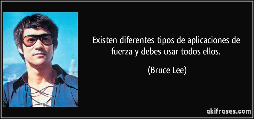 bruce lee fuerza